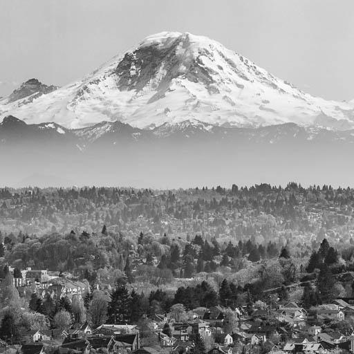 Mount Rainier from Beacon Hill, Seattle
