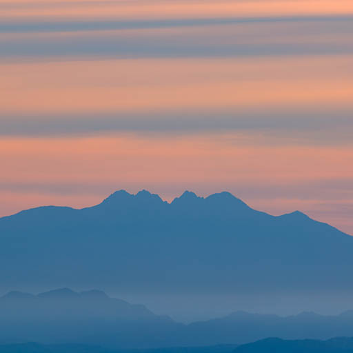 Four Peaks sunrise from South Mountain Park