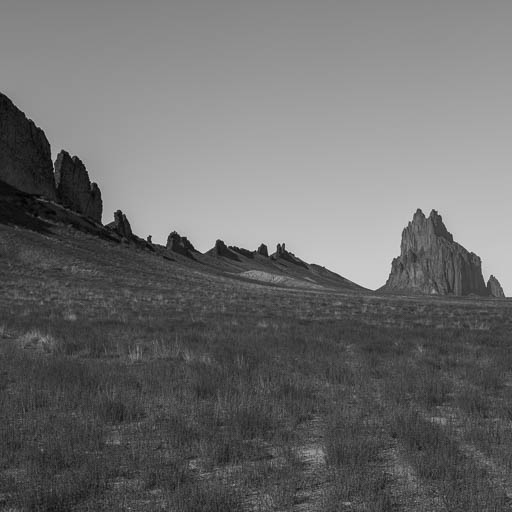 The Spine of Shiprock