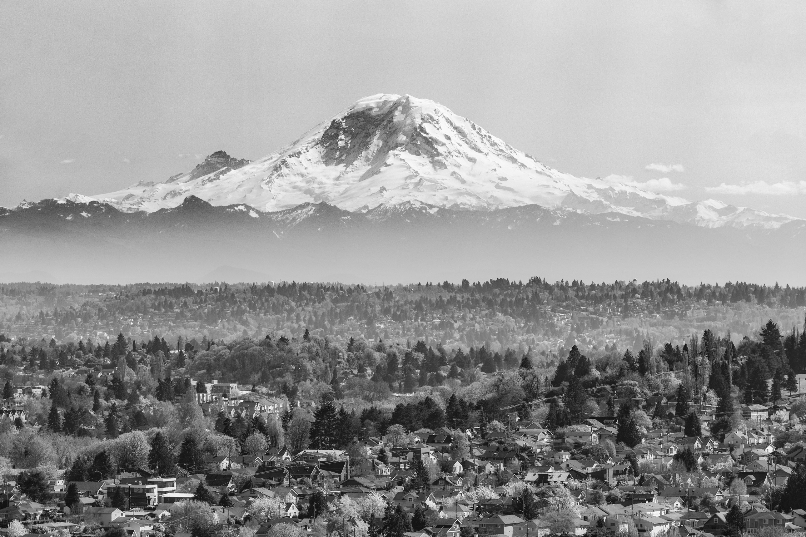 Mount Rainier from Beacon Hill, Seattle