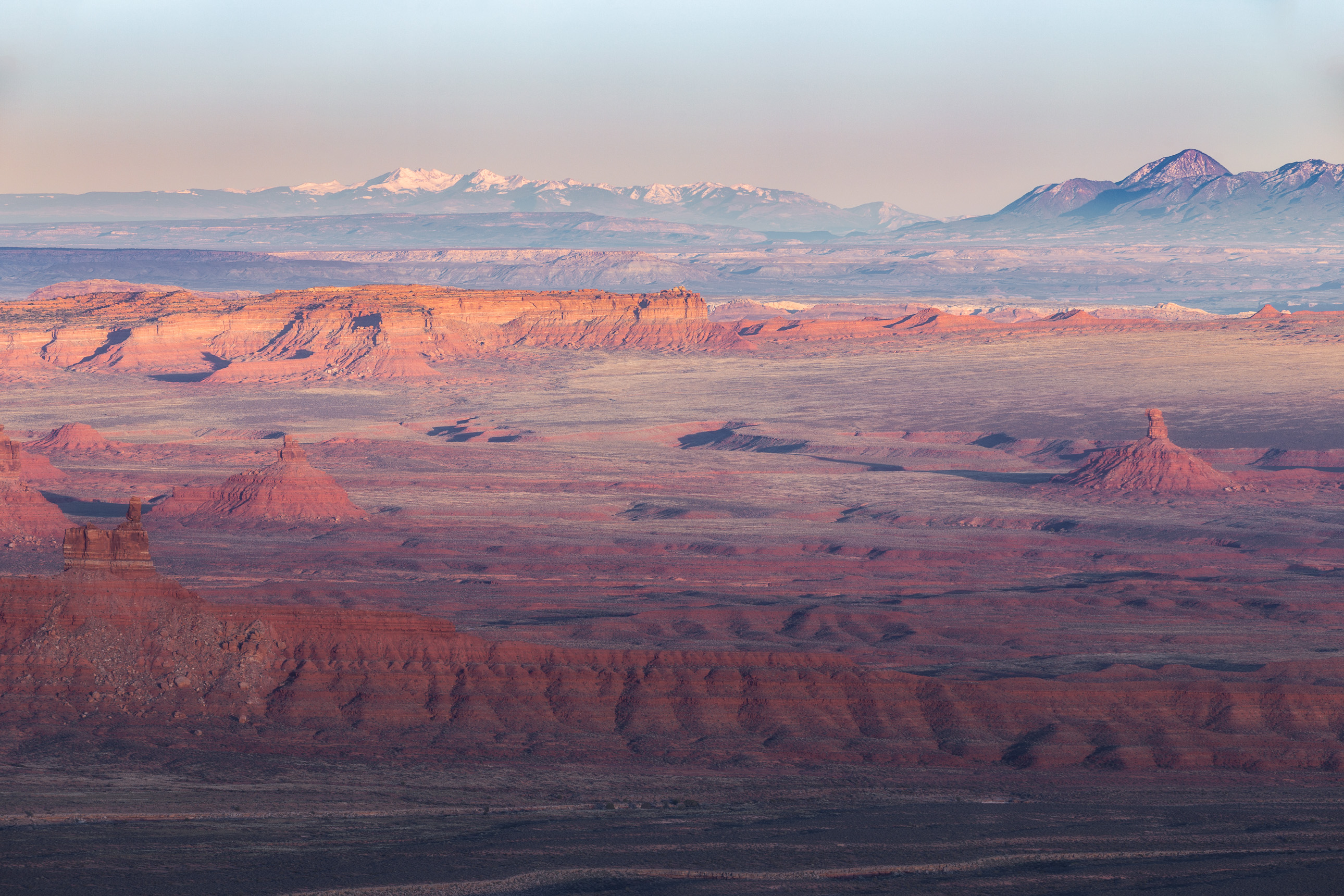 Valley of the Gods from the Moki Dugway