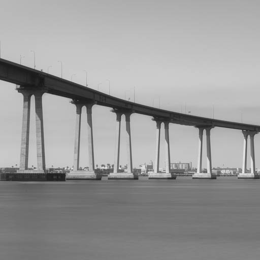Coronado Bridge in San Diego
