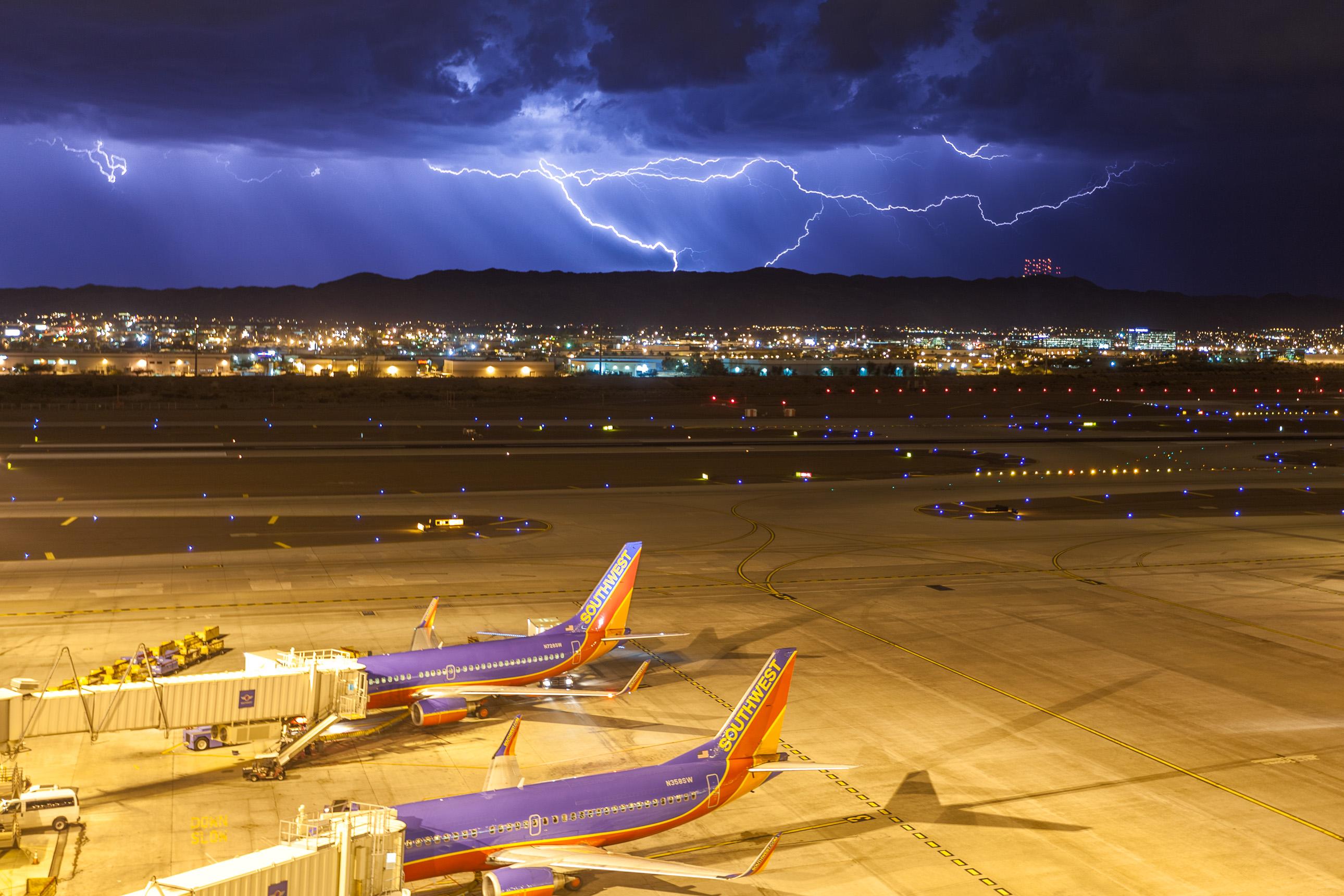 Lightning at Sky Harbor