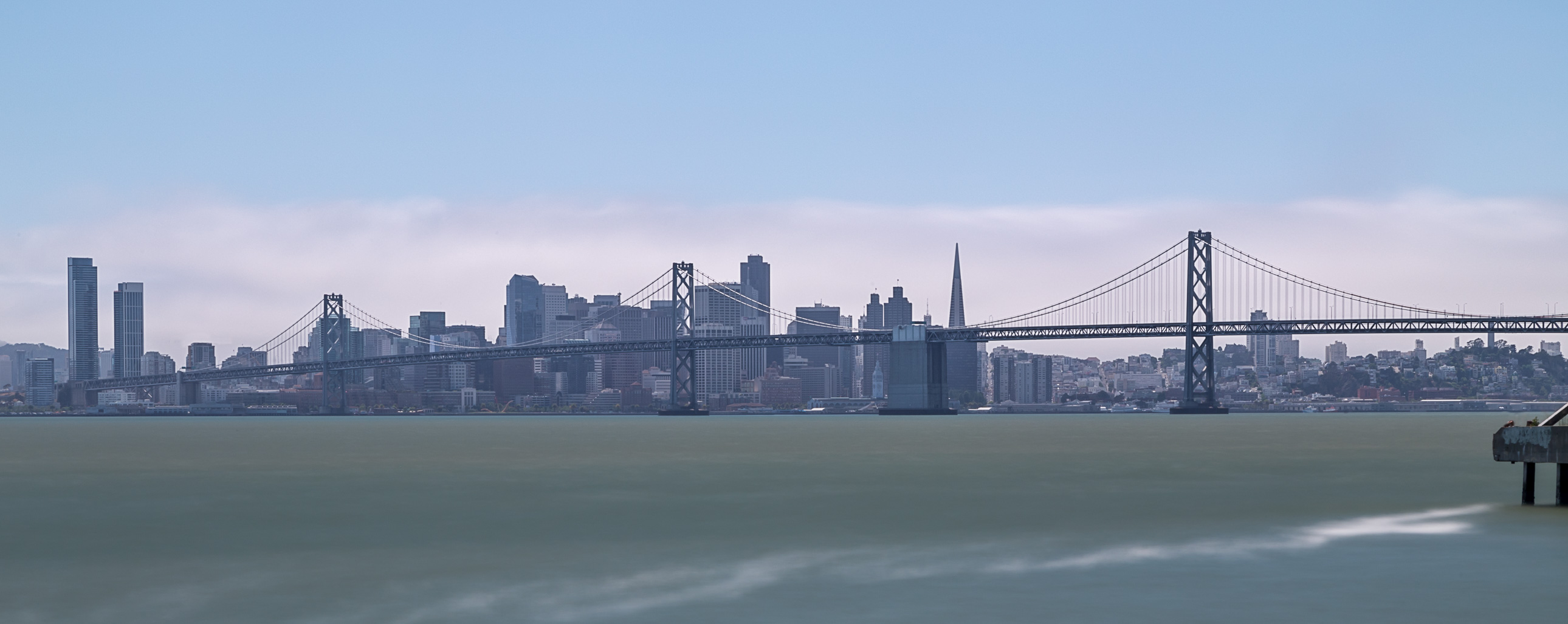 San Francisco skyline from Port View Park