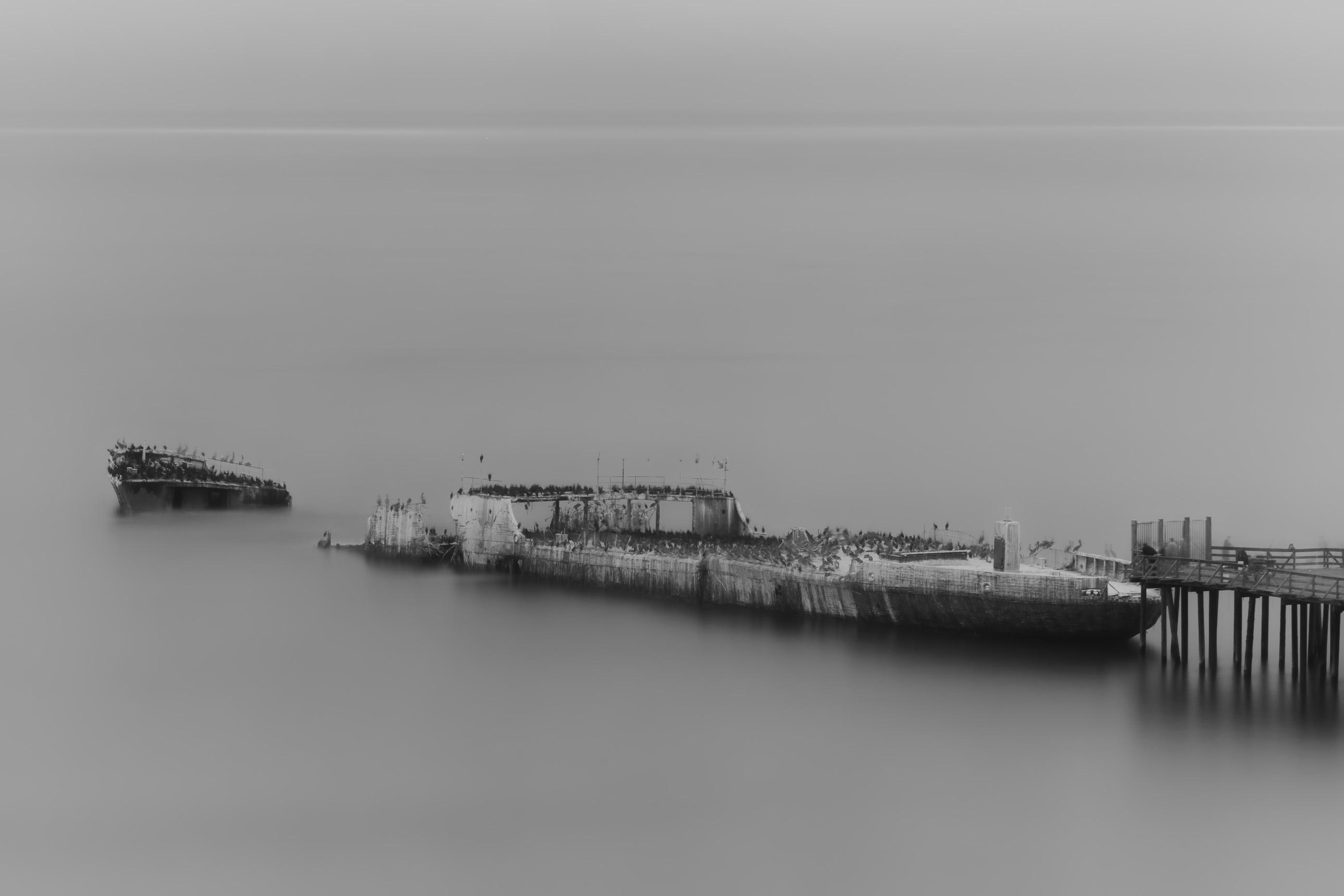 SS Palo Alto concrete ship in Aptos California