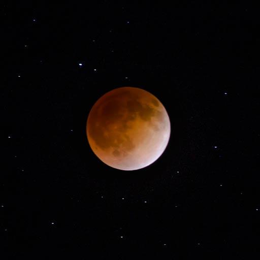 Blood moon lunar eclipse in 2014