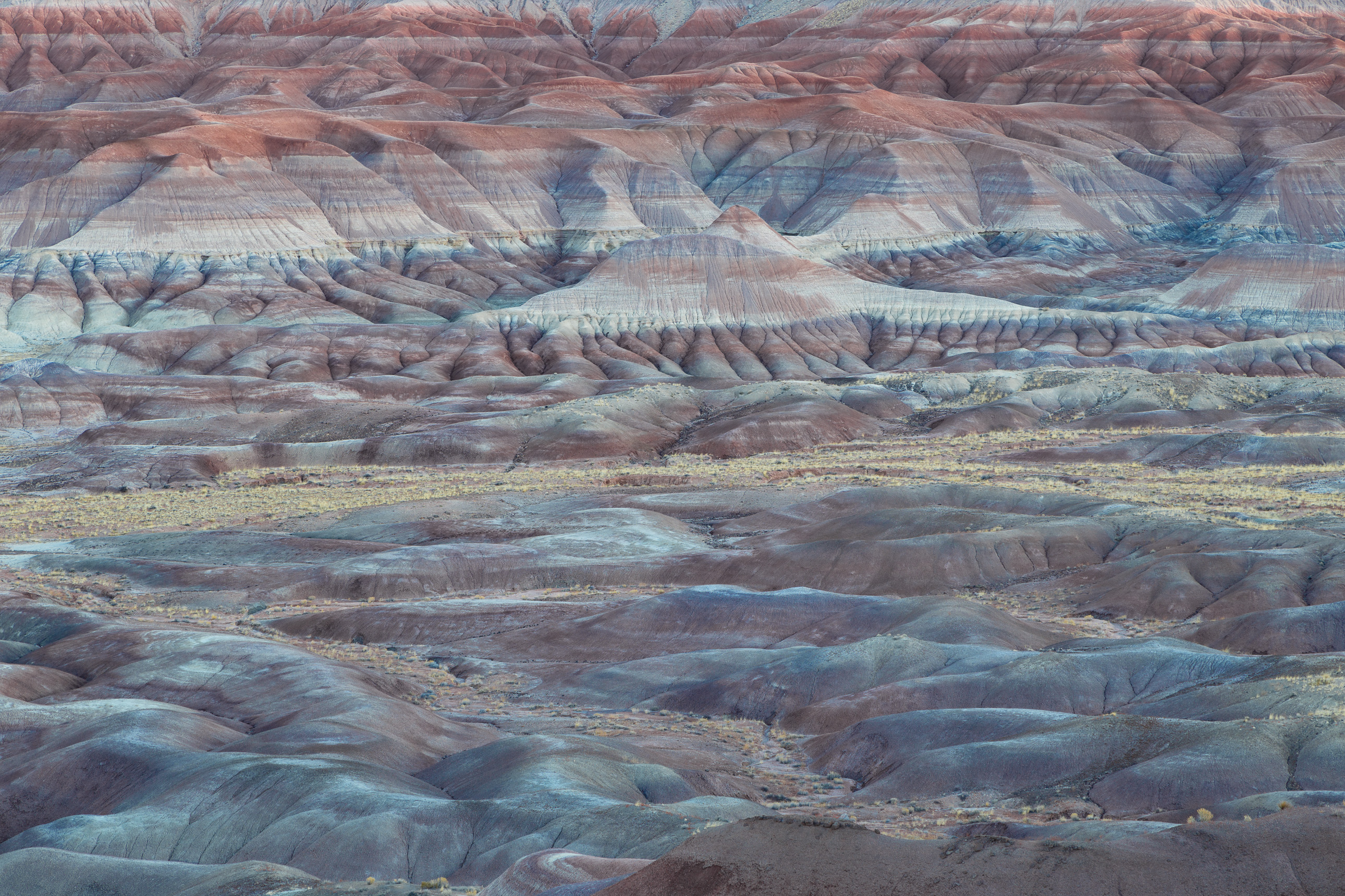 Little Painted Desert in Arizona