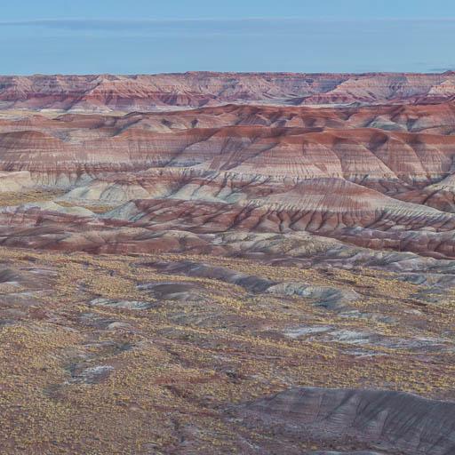 Little Painted Desert in Arizona