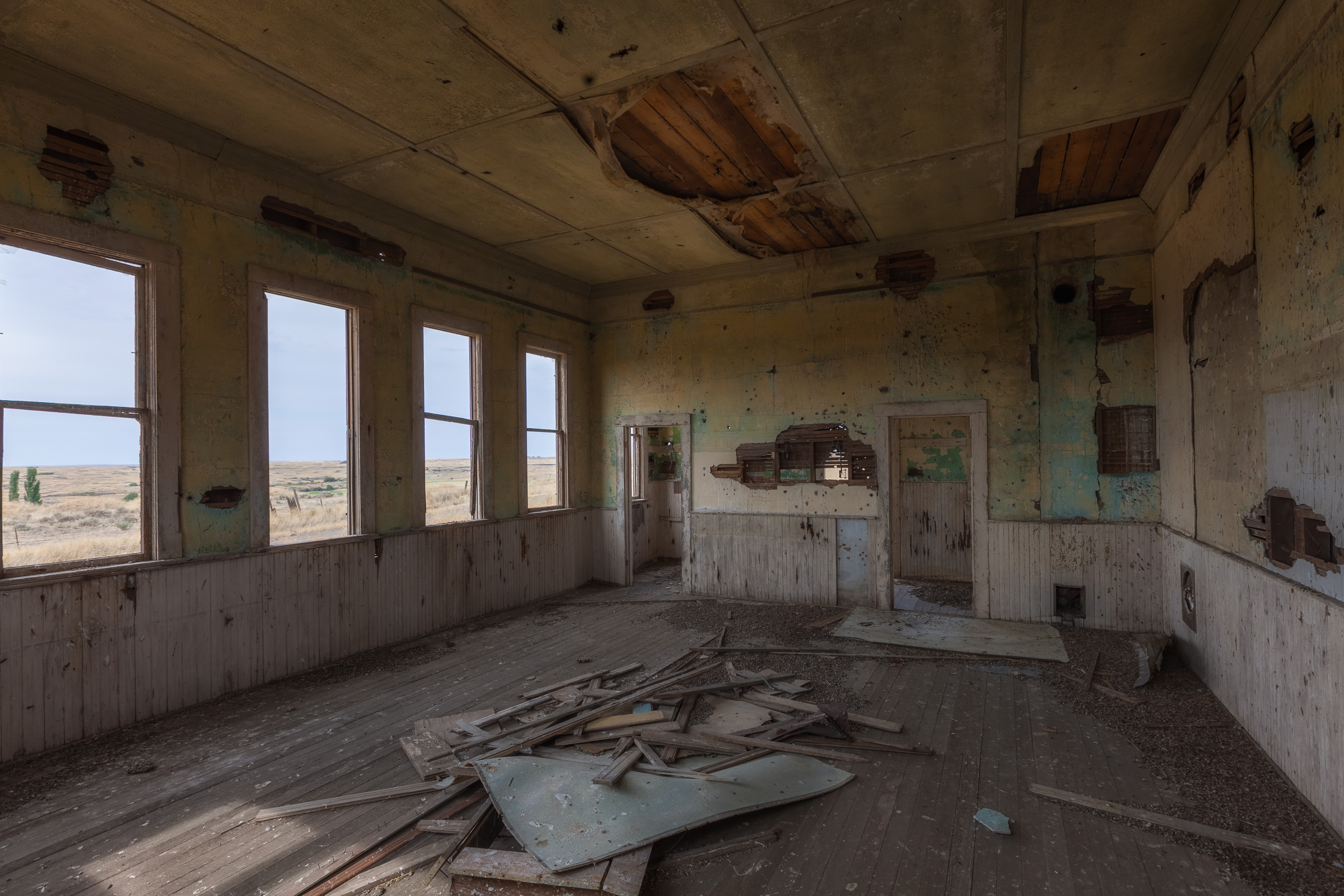 Abandoned School Room in Eastern Washington