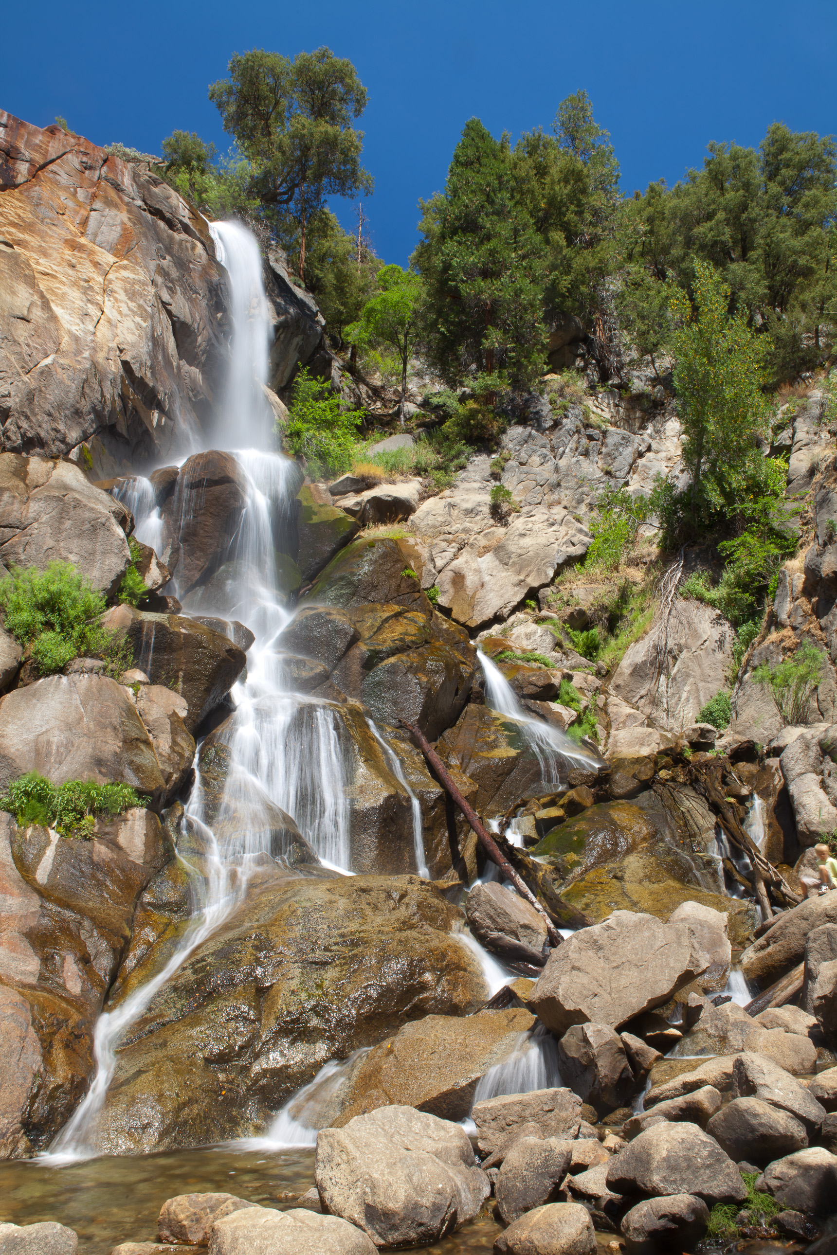Grizzly Falls in Kings Canyon National Park