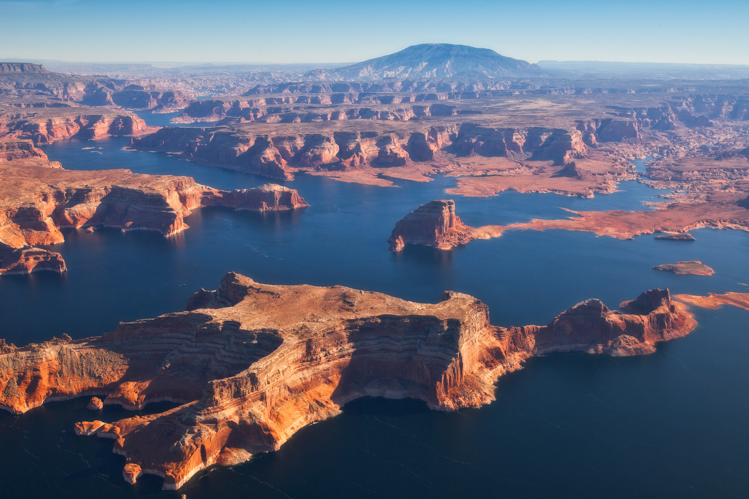 Lake Powell from the sky