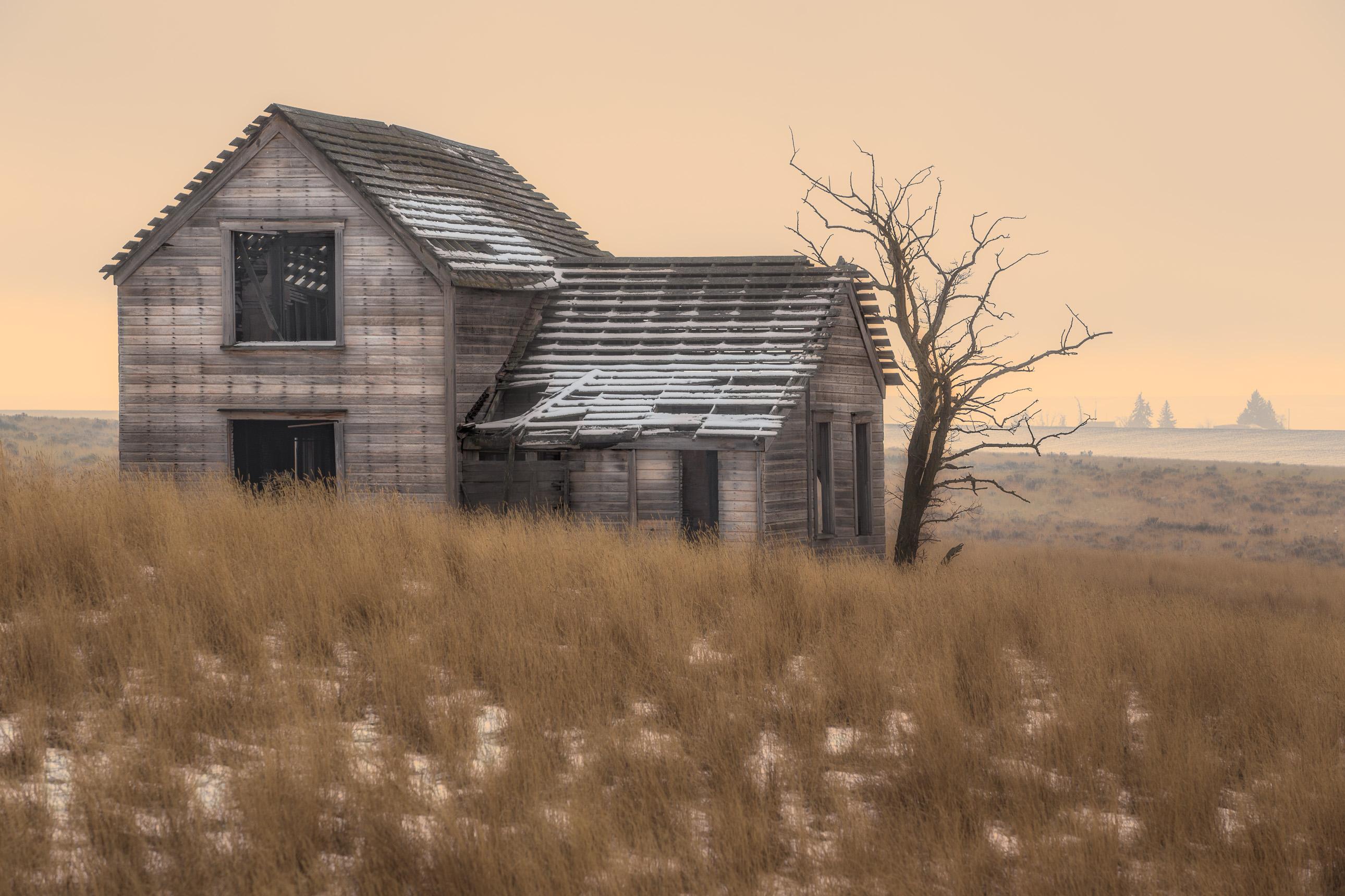 Creepy abandoned house in Washington