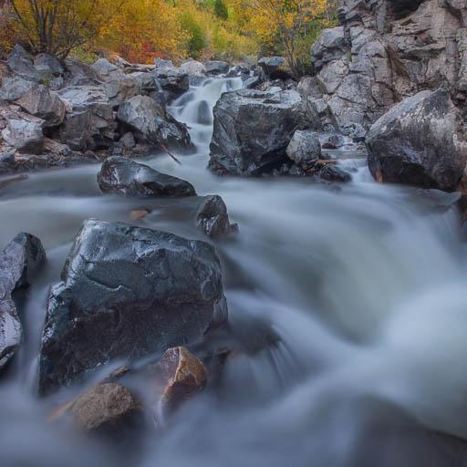 Uncompahgre River Waterfall