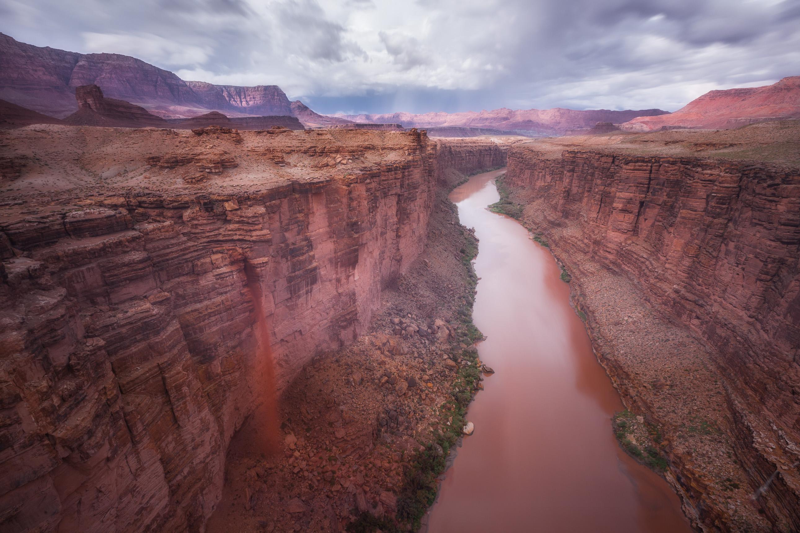 Marble Canyon from Navajo Bridge