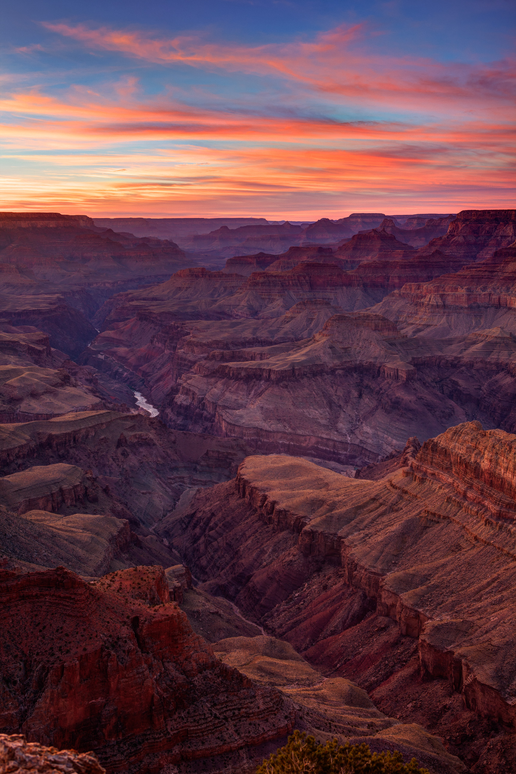 Grand Canyon sunset from Lipan Point
