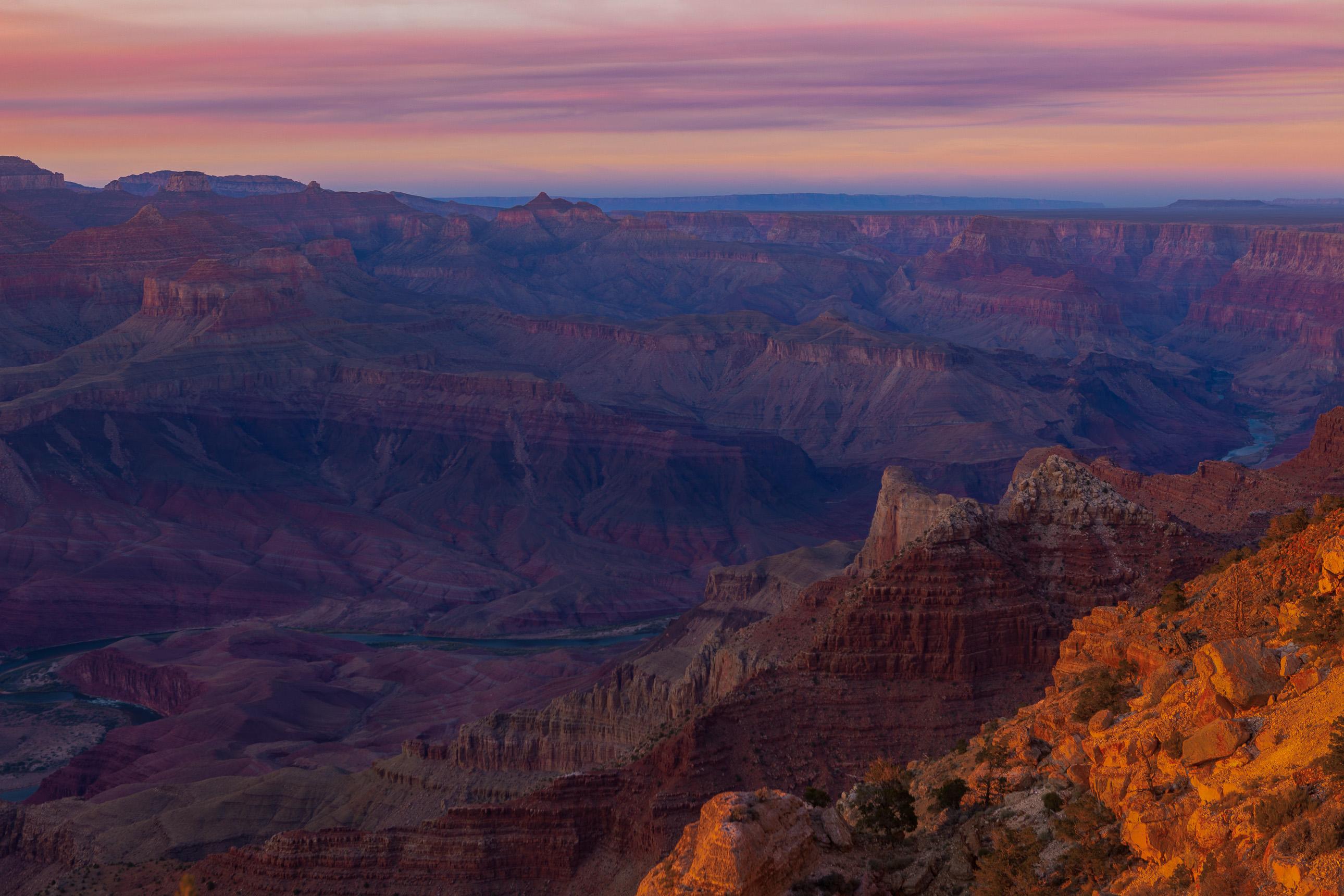 The Colorado River Through the Grand Canyon