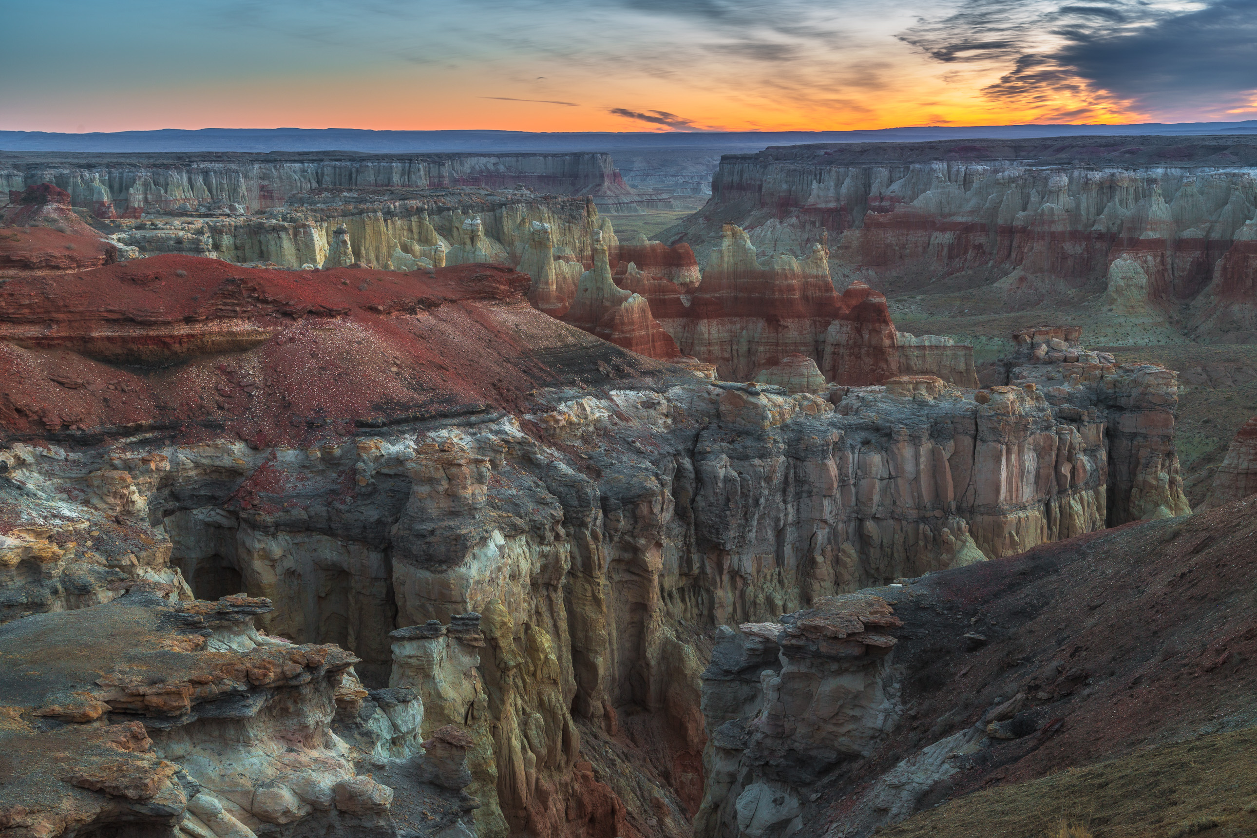 Coal Mine Canyon Sunrise