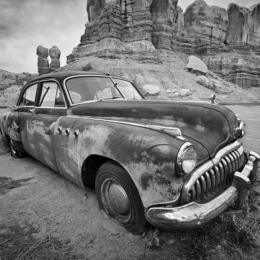 1949 Buick in Bluff Utah