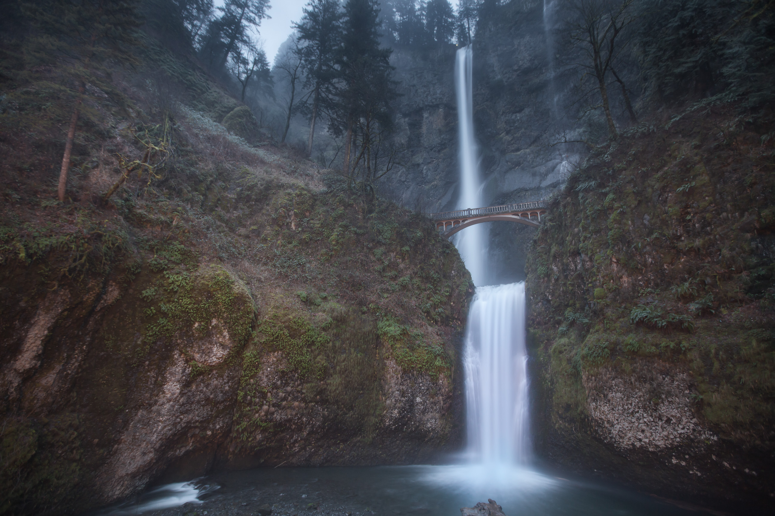 Multnomah Falls in Northwest Oregon
