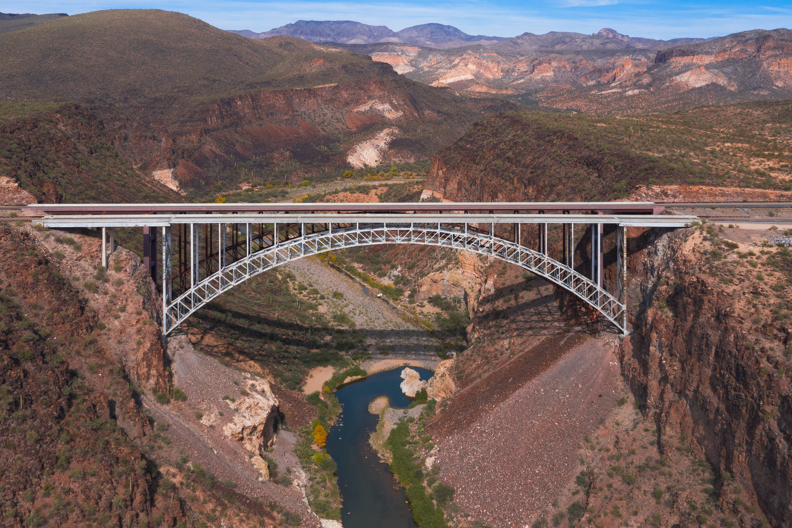 Burro Creek Bridge in Arizona