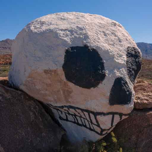 Photo of Skull Rock near Congress Arizona
