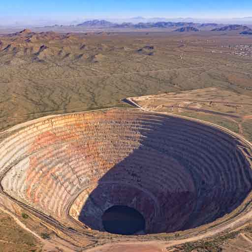 Photo of Sacaton Mine near Casa Grande, Arizona