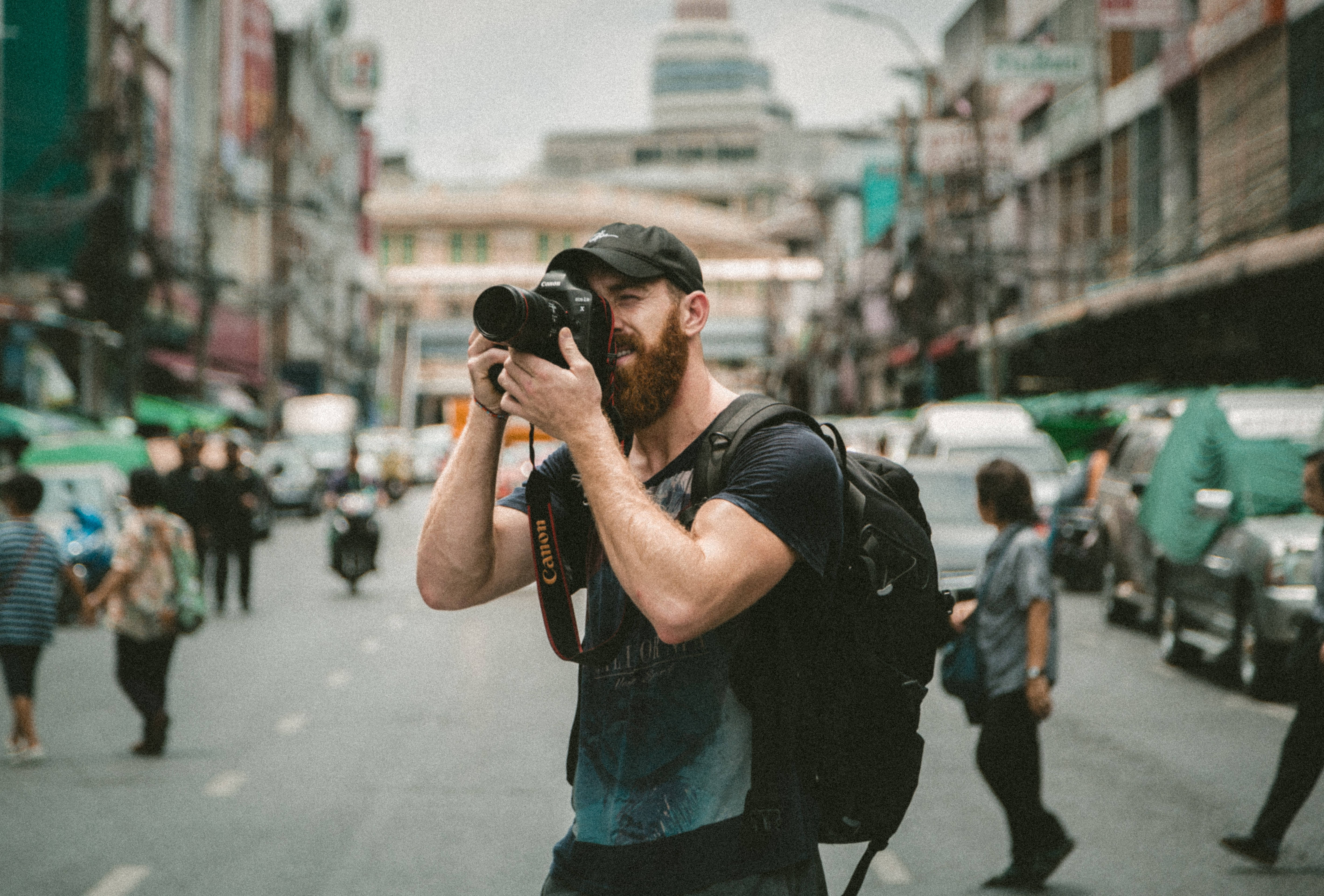 A Photographer on the streets