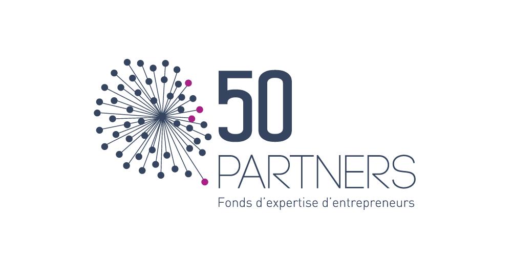Logo 50 partners / MerciYanis