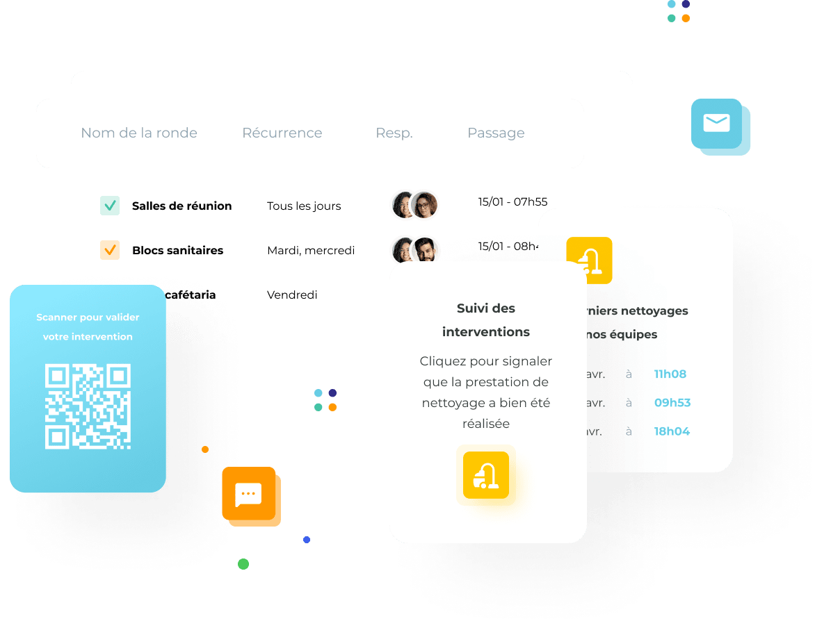 Plateforme MerciYanis permettant la traçabilité de vos interventions