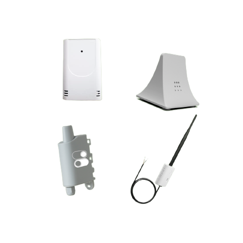Différents capteurs