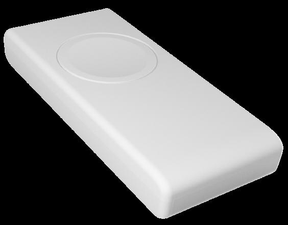 Photo d'un bouton connecté