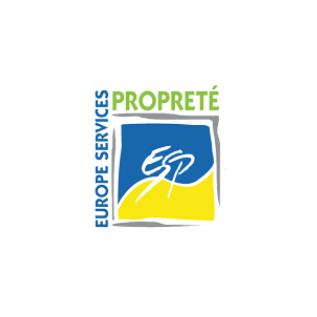 logo europe services propreté couleur