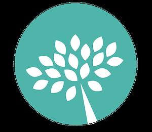 Laser Lipo of Utah Logo - Green circle with white tree inside