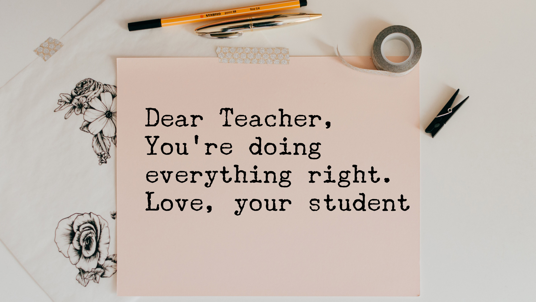 Love, Your Students