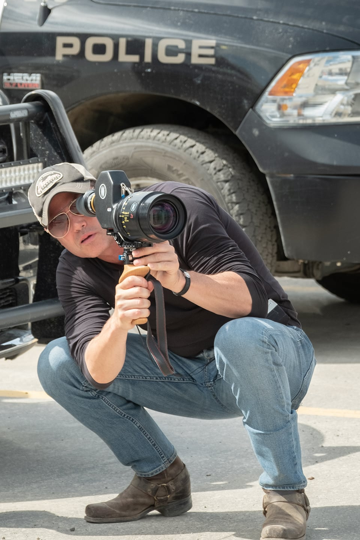 Ron E. Scott, creator of the Calgary-shot Indigenous police drama, Tribal. Courtesy, APTN CALGARY