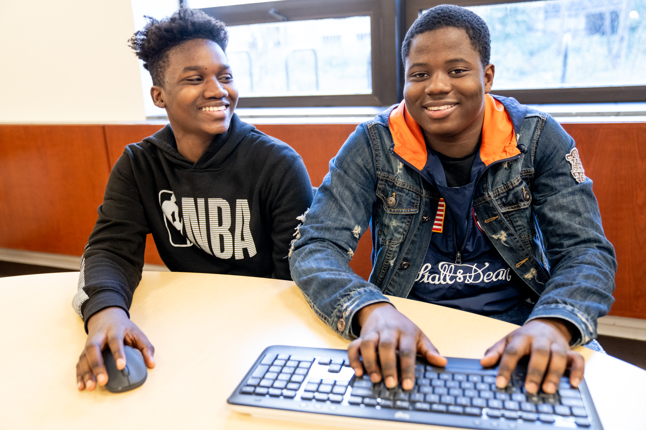 """TeenConnect """"brings jobs to teens and teens to jobs,"""" providing teenagers opportunities to internships at corporations, teaching them professional skills and mentoring them in the workplace."""