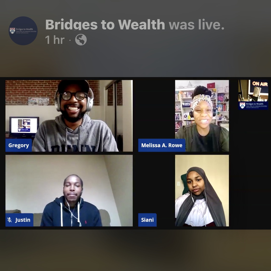 Gregory Nesmith, Aliah Harris, Kayla Daniels Redden, Siani Ross, and Justin Glover, all recently spoke with Melissa Rowe, M.Ed, about tips that she has for high school students who are writing personal statements, how students can improve their writing, and how to overcome writer's block.