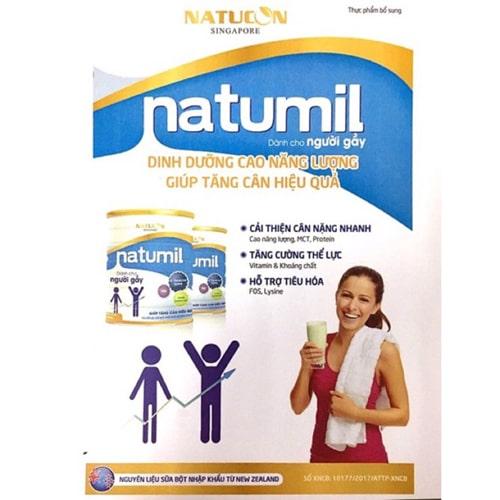 Sữa tăng cân cho trẻ Natumil