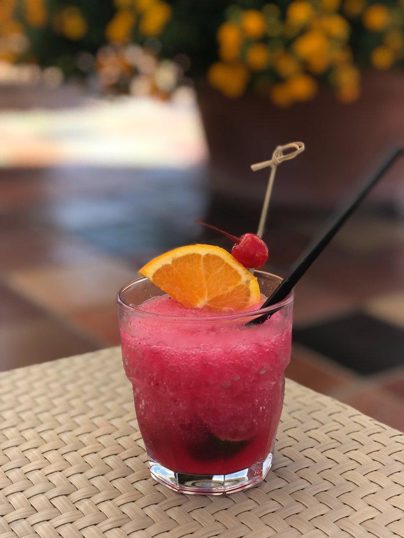 Cocktails in Sorrento.