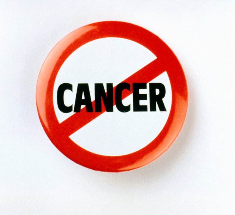 Stop Cancer Button