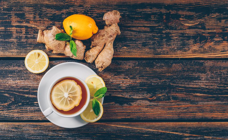 cup of ginger tea healthy drink to lower cholesterol