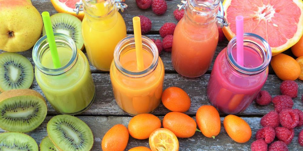 A Photo Of Fresh Fruit Smoothies