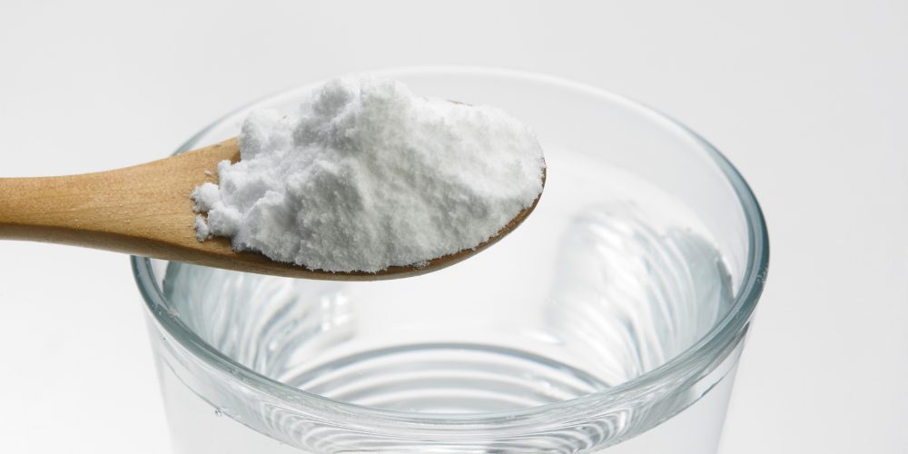 A Photo Of Baking Soda And Water