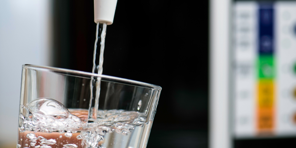 A Photo Of A Drinking Water In A Glass