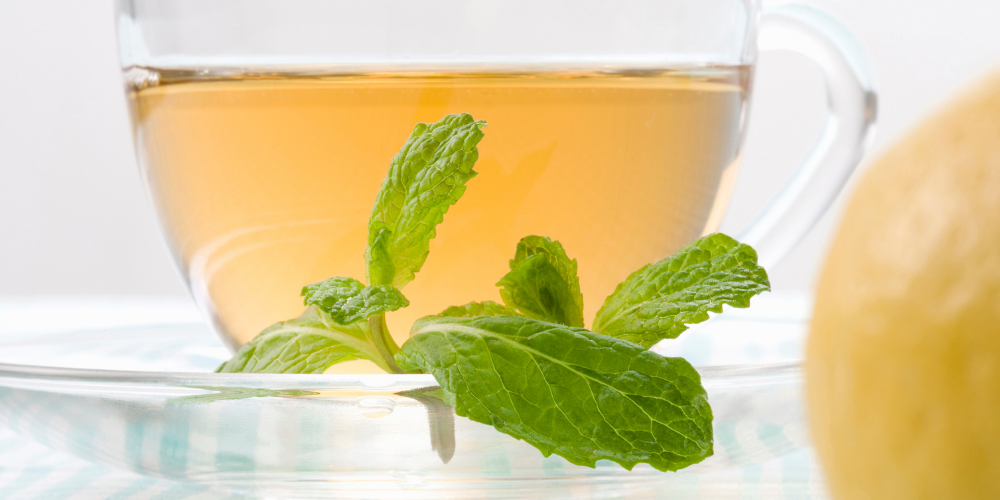 A Photo Of Spearmint Tea