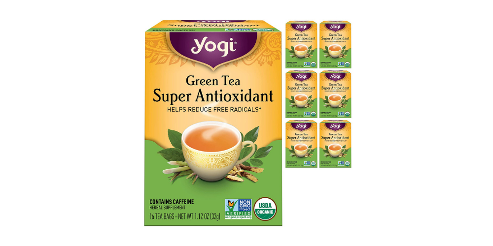 A Photo Of Yogi Green Tea