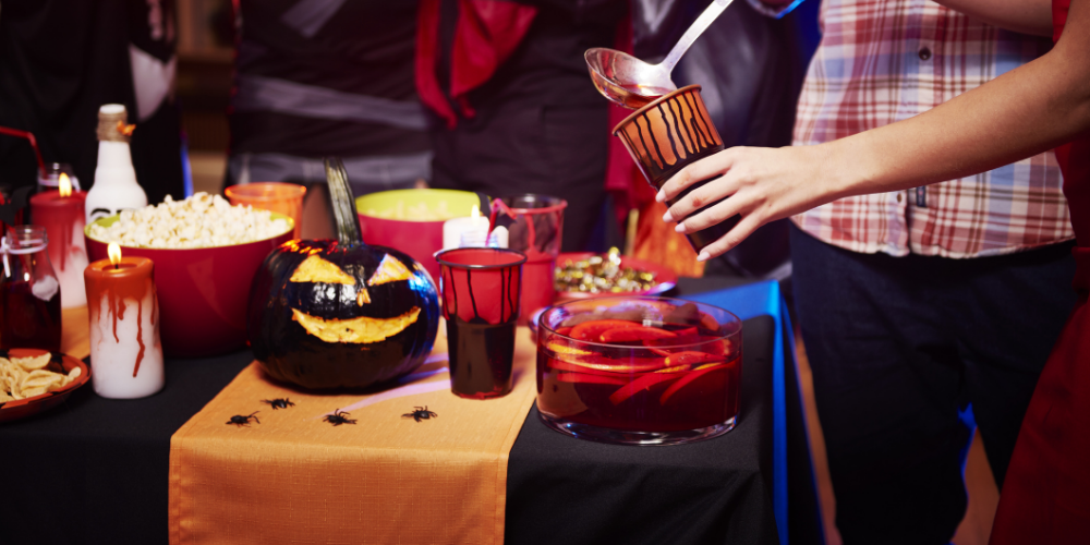 A Photo Of Witch's Cauldron Punch