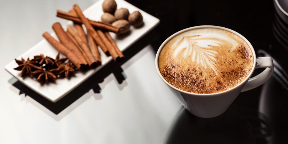 A Cup Of Soy Espresso Macchiato