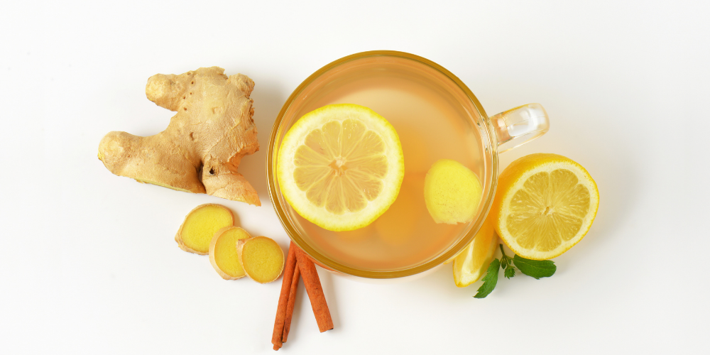 A Cup Of Ginger Tea