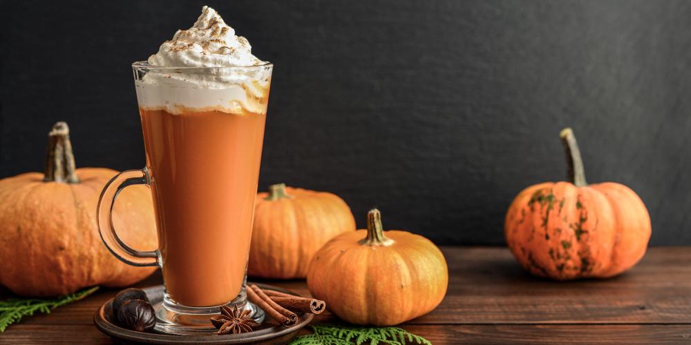 A Photo Of Pumpkin Spice Frappuccino